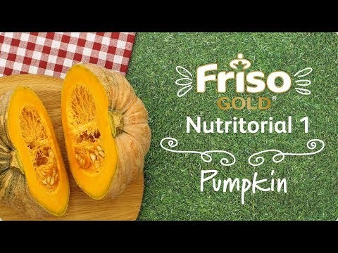 Wholesome pumpkin puree to feed your little one